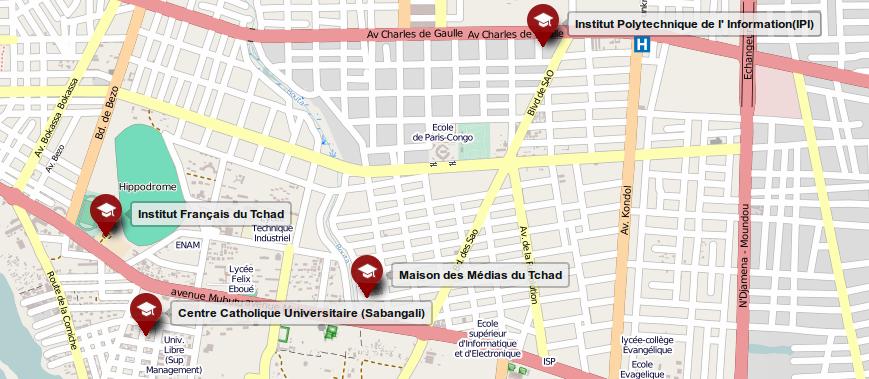 Crédit: OpenStreetMap
