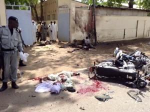 Image des attentats du 15 juin 2015 à N'Djamena